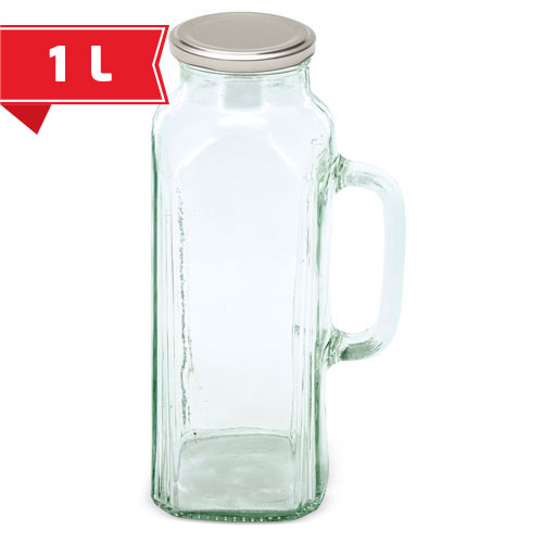 PITCHER WITH HANDLE HEALTHY