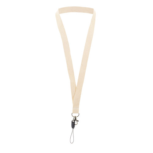 ORGANIC COTTON LANYARD