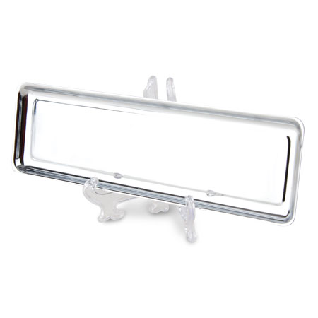 CHROME OBLONG TRAY