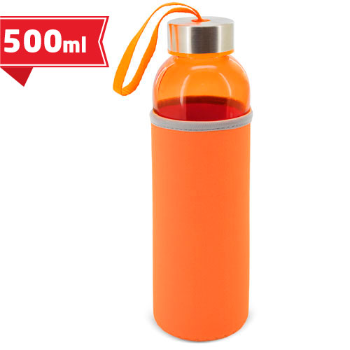 COLORED GLASS BOTTLE-FLASK ZAS