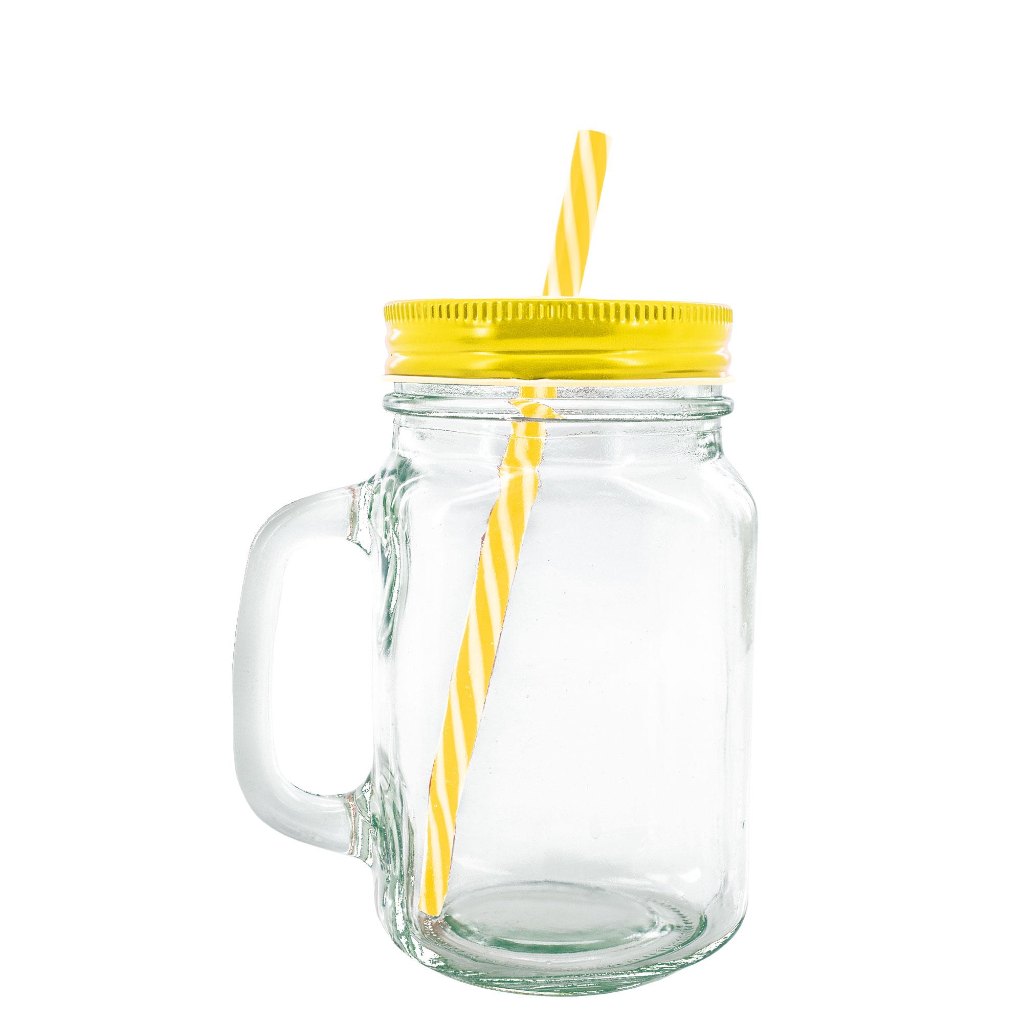 TRASPARENT GLASS JAR CHUR