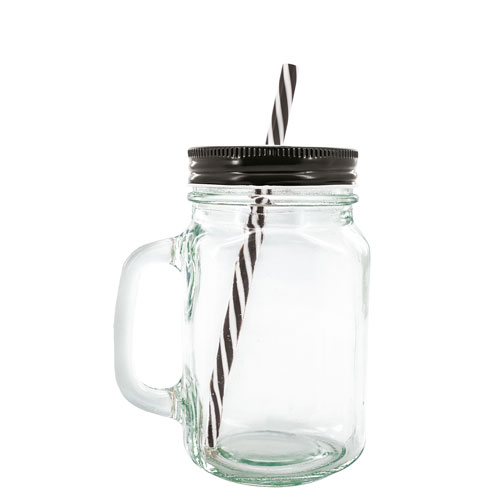 TRASPARENT GLASS JAR CHUR