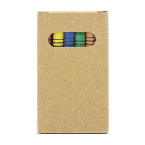 6 COLORS WAX BOX