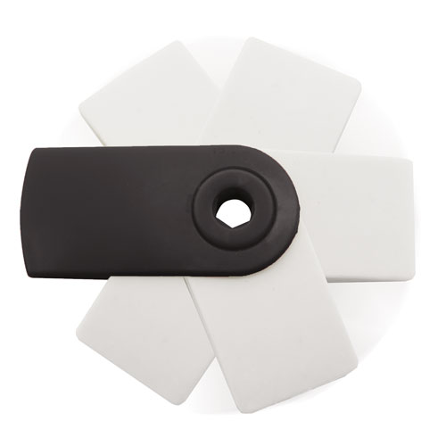 RUBBER WITH COVER