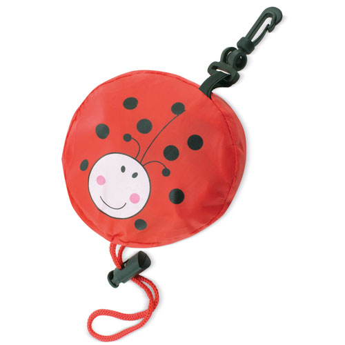 FOLDABLE BACKPACK LADYBUG