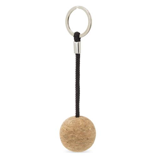 3D cork key-ring