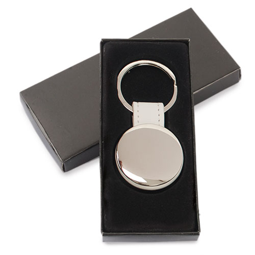 ROUND METAL KEY-RING