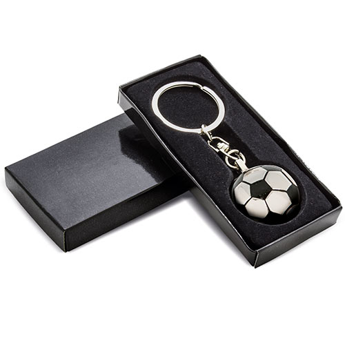 FOOTBALL METAL KEY-RING