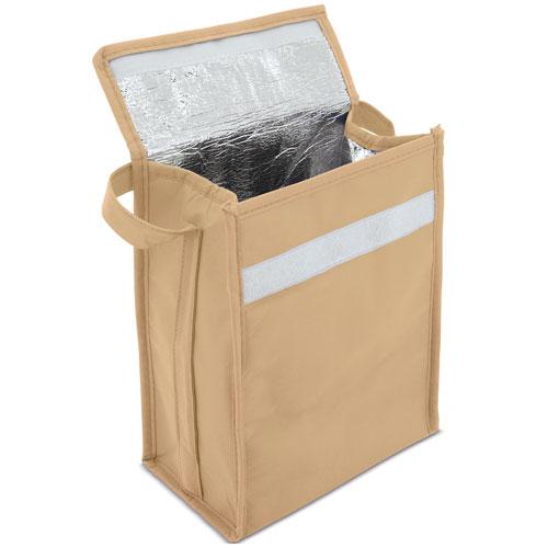 9 CANS COOLER BAG BEIGE COLOUR