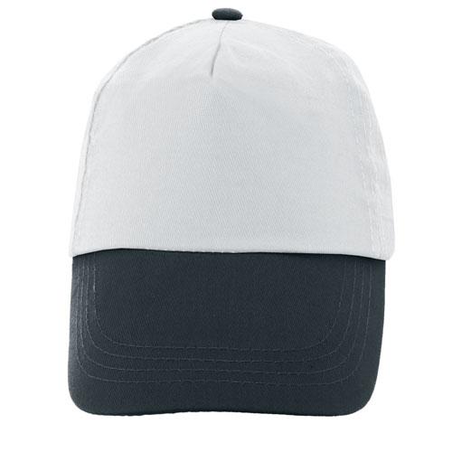 TWO COLORS 5 PANELS CAP