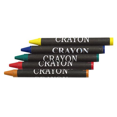 APRON + WAX CRAYONS