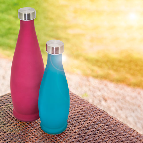 FROSTED BOTTLE 1L AQUANSENA