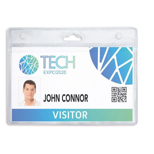 PVC ID-CARD HOLDER 12X9CM